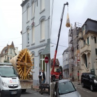 Installation du toit LeTouquet