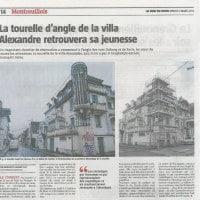 article-Voix du Nord Villa Alexandre