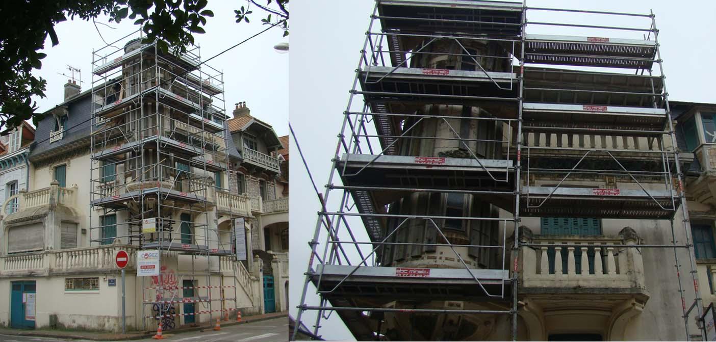 Démarrage de chantier de la Villa Alexandre Le Touquet
