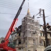 Installation toit réussie