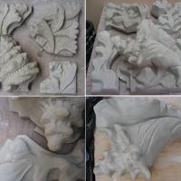Modeles en argile pour reproduction céramique