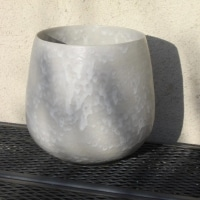 Vase en grès ton pierre